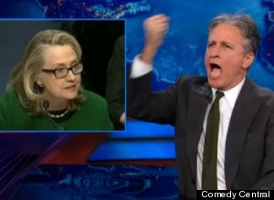 s-JONSTEWARTHILLARYCLINTONBENGHAZI-large300