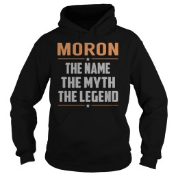 MORON-The-Myth-Legend--Last-Name-Surname-T-Shirt-Black-_w91_-front