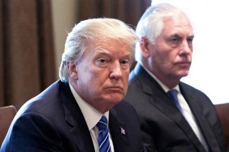 Trump-Tillerson-Drama